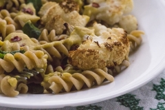 ROASTED CAULIFLOWER AND PASTA