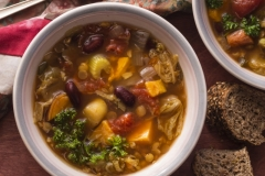 LENTIL VEGETABLE SOUP