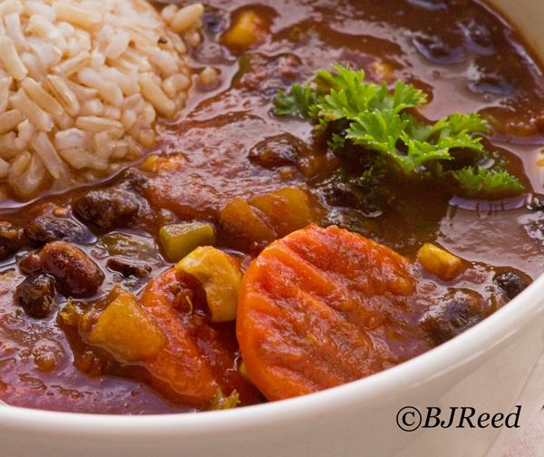 Chili - no chop black bean