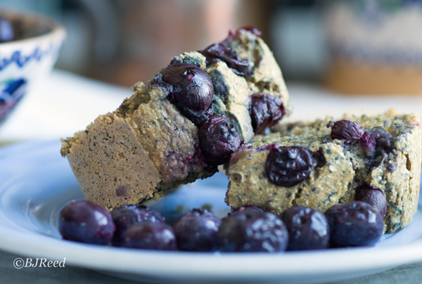 Plant-Based Blue Corn Bread