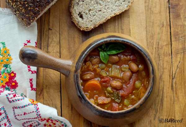 Coach BJ's Peas and Beans Soup