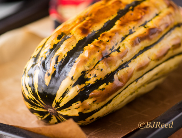 Roasted Delicata