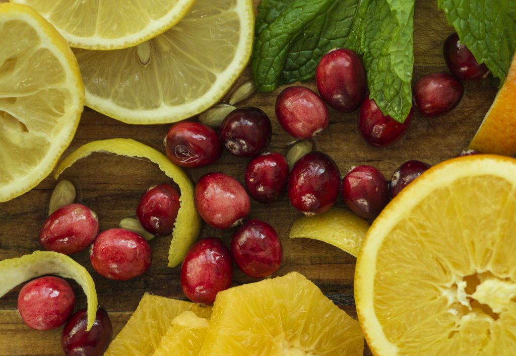 CITRUS - CRANBERRIES and ORANGES