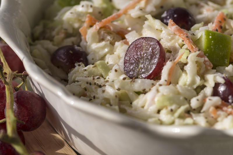 COLE SLAW with FRUIT