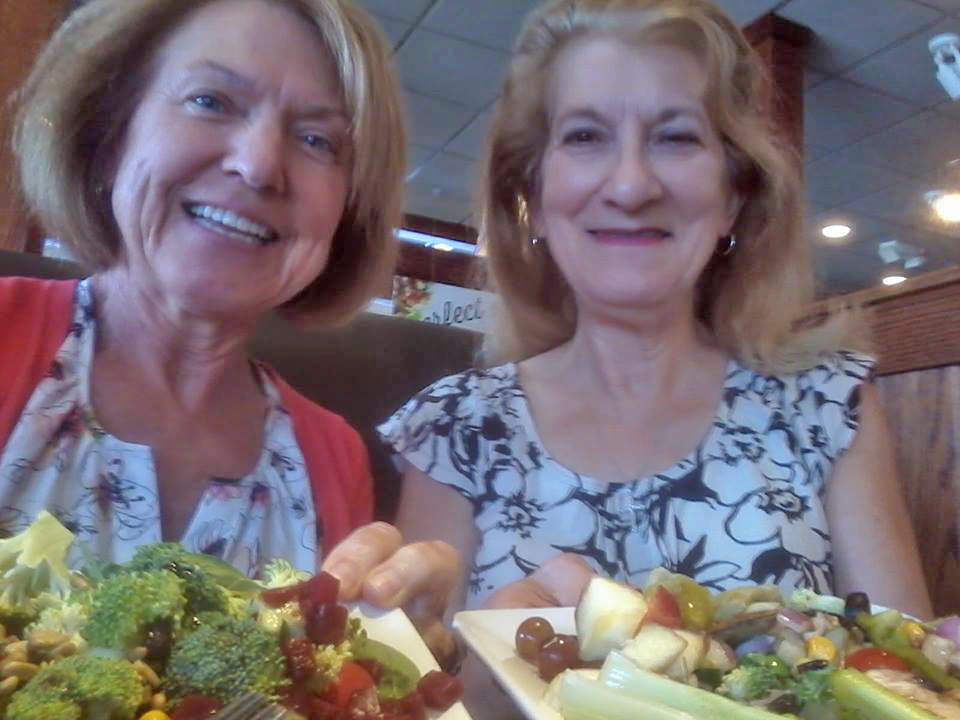 Dr. Liz and CoachBJ at Ruby Tuesday's in Chambersburg, PA