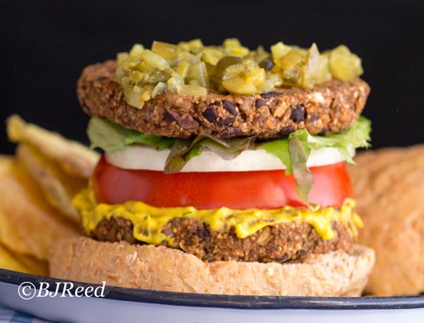 Buckwheat Grouts Burgers