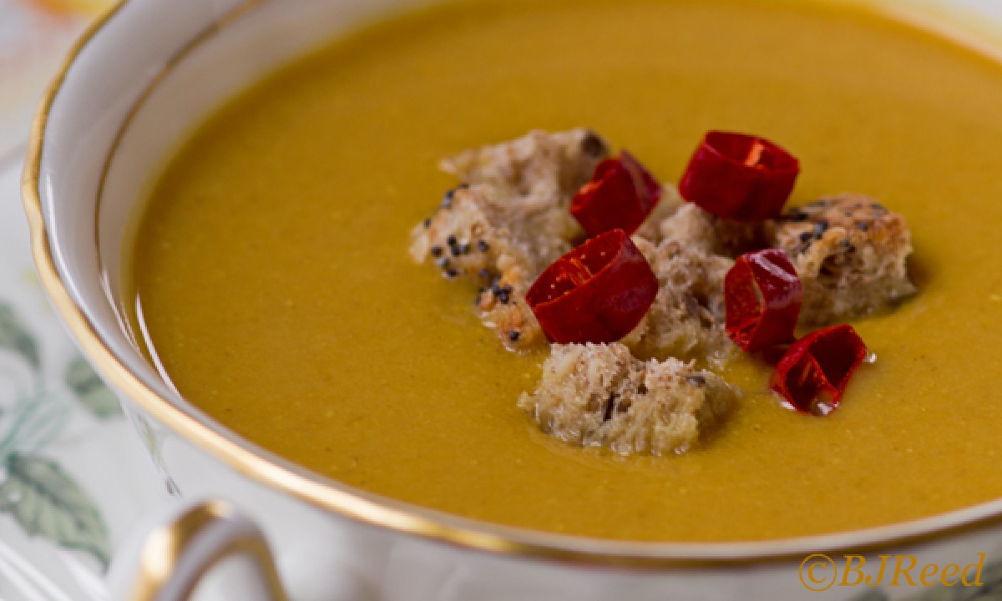 Pumpkin Peanut Butter Soup