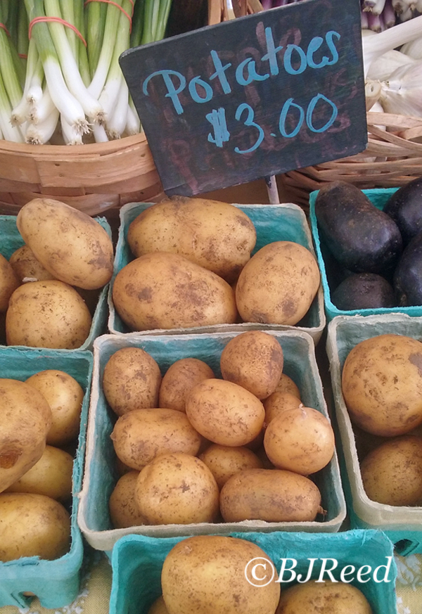 New Potatoes at the Farmer's Market