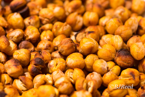 Roasting Chick Peas